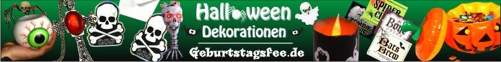 Halloween Deko von Geburtstagsfee.de