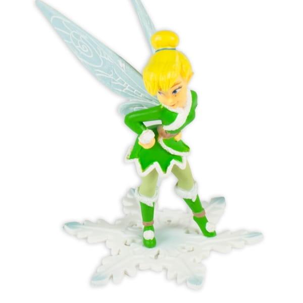 Tinkerbell Winterfee Tortenfigur/Spielfigur, Bullyland, bemalt,7x8,5cm