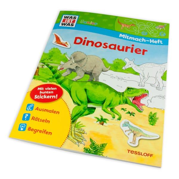 """WAS IST WAS-Mitmach-Heft """"Dinosaurier"""""""