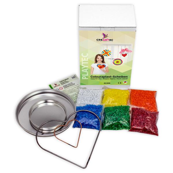 Colouraplast Scheiben Set - bunte Deko aus Kunstoff gießen