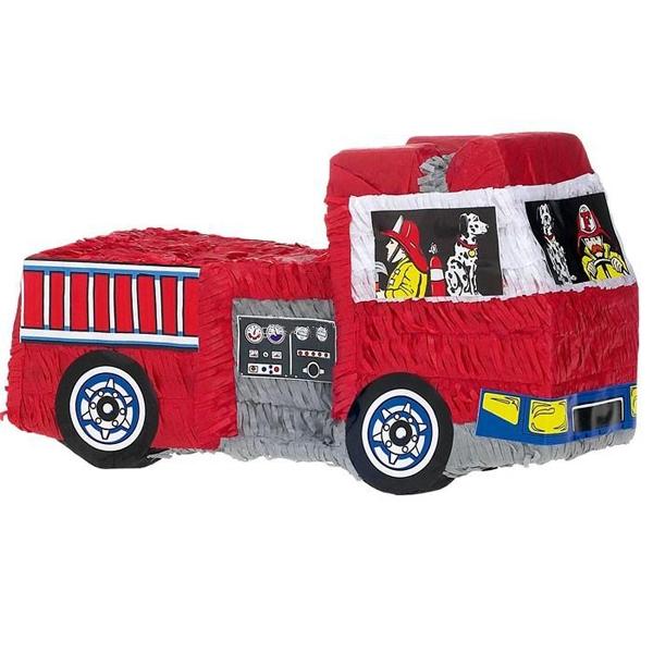 Feuerwehrauto Pinata 50 × 28 cm
