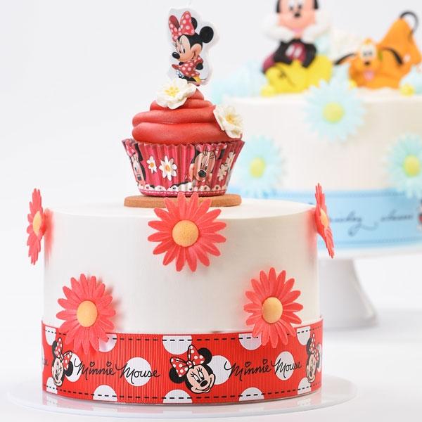 Minnie Maus Tortenband, 82cm x 4cm, ideal für Durchmesser 26cm