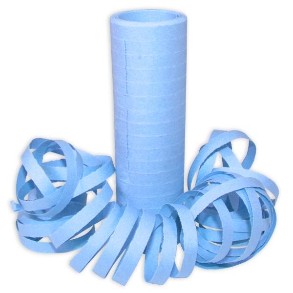Hellblaue Luftschlangen, 1 Rolle