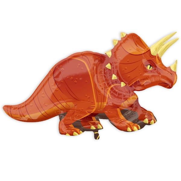 "Formballon ""Triceratops"", 106cm x 60cm, 1 Stk."