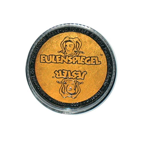 Kinderschminke perlglanz Gold, Profi Aqua, hohe Deckkraft, 3,5ml Dose