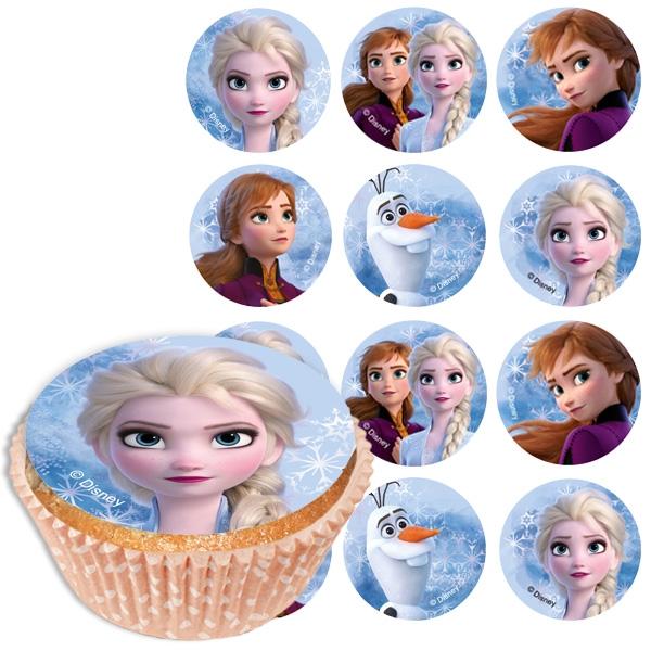 Frozen 2 - Muffinaufleger, 12er Pck, 5,8cm