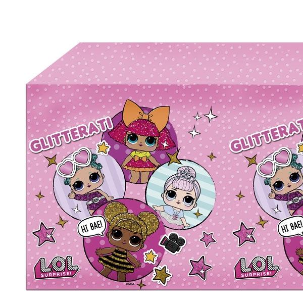 LOL Surprise Tischdecke, 120cm x 180cm, für Mädchengeburtstag