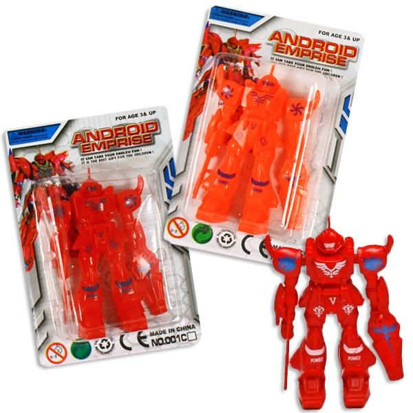 Spielzeugroboter, cooler Roboter für Kinder aus Kunststoff, 1 Stück