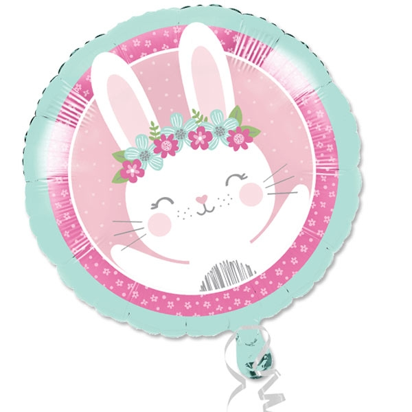 Kleines Häschen Folienballon, 1 Stk, 35cm