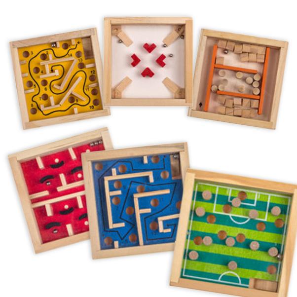 Geschicklichkeitsspiel aus Holz, 1 Stück