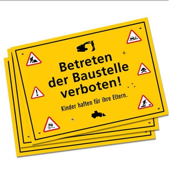 Platzset Baustellen Party, gelbe Papier-Deckchen im 6er Pack