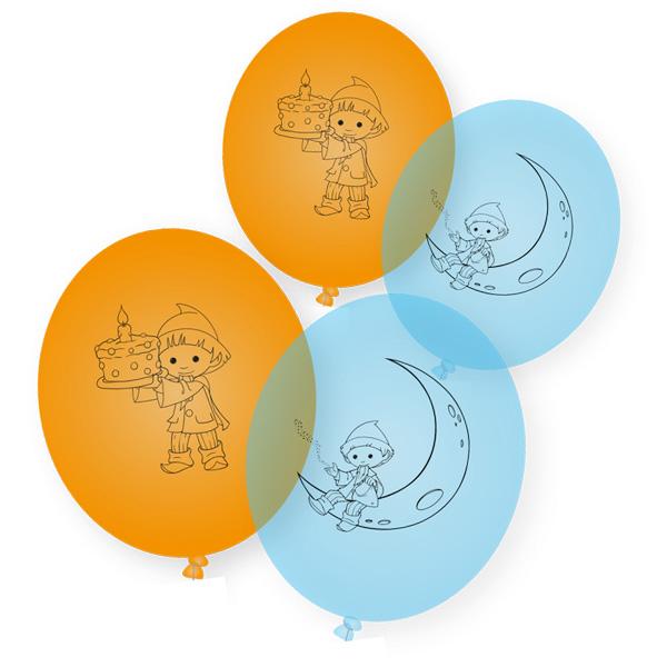 Unser Sandmännchen Luftballons, 8er Pack