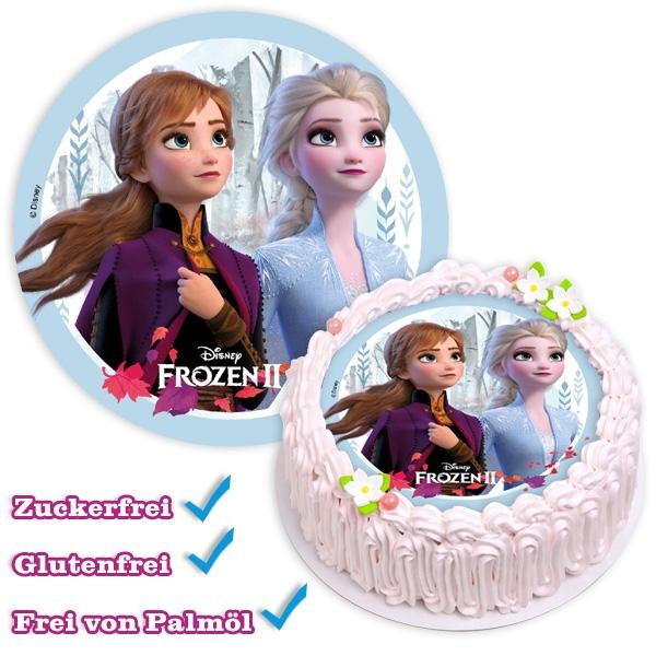 """Frozen 2"" Tortenaufleger, 1 Stk, Stärke, 18,5cm"