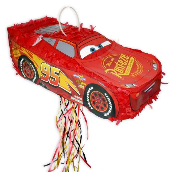 """Lightning McQueen"" Zug-Pinata, 46 cm x 21 cm"