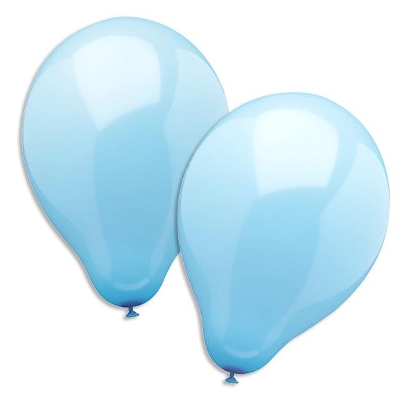 Luftballons in Blau, 10er Pack, 25 cm