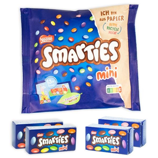 Smarties Minis, 13 Stück im Beutel, 187g