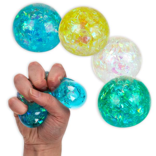 Bunter Squeeze-Ball, Ø 6cm