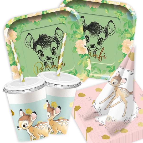 Bambi - Basic Set, 64-teilig für bis zu 8 Kids