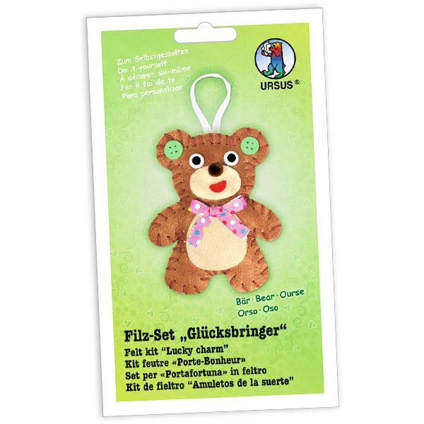 """Filz-Glücksbringer Bastelset """"Bär"""""""