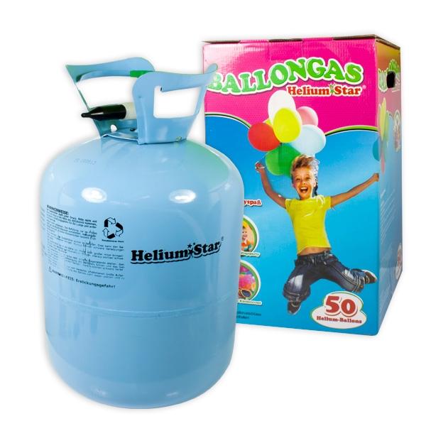 Helium Ballongas f. 50 Ballons