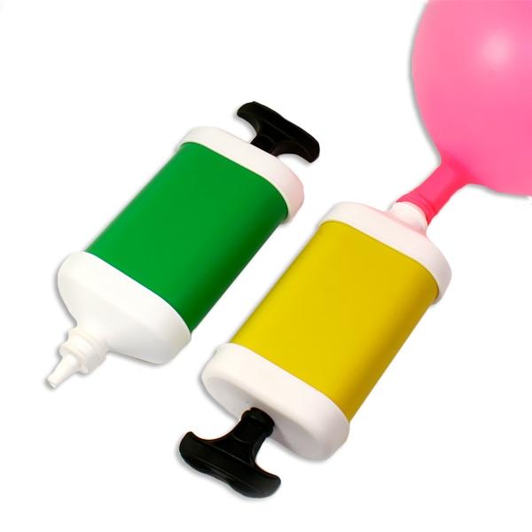 Ballonpumpe klein, 18cm, 1 Stück, Luftballonpumpe als Aufblashilfe