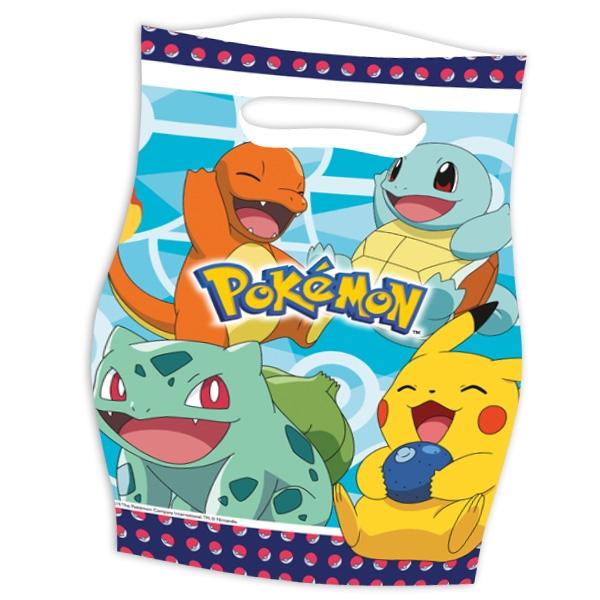 """Mitgebseltütchen """"Pokemon"""", 8er, 23cm x 16,5cm"""