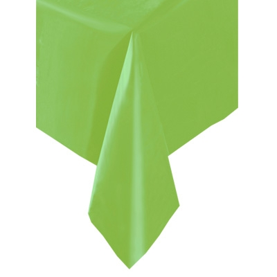 Tischdecke Folie grasgrün 137x274cm