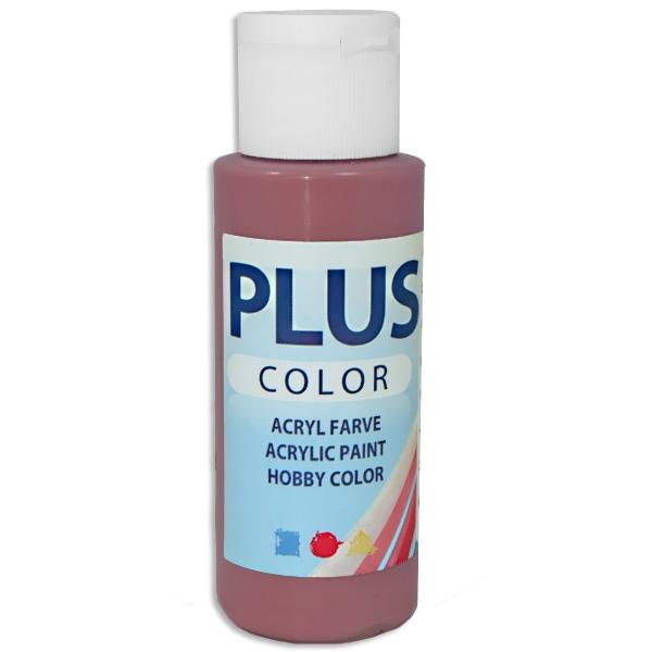 Bastelfarbe Plus Color antikrot, 60 ml, äußerst gute Deckkraft