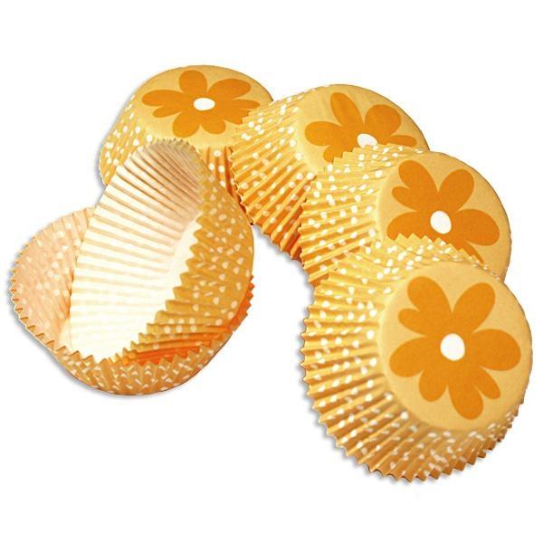 Blumen-Muffinsformen 50 Stück Papierförmchen für Cup Cakes, 5cm