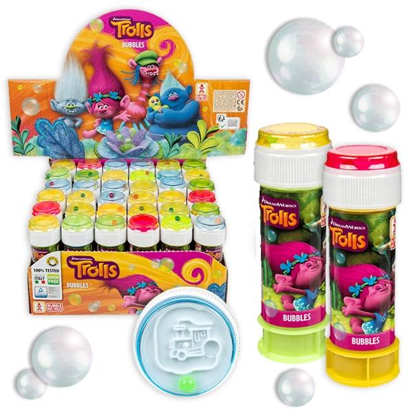 Trolls-Seifenblasen mit Geduldspiel, 36 Stk im Großpack