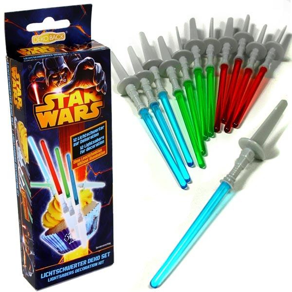 Star Wars Lichtschwerter, 12 Stück