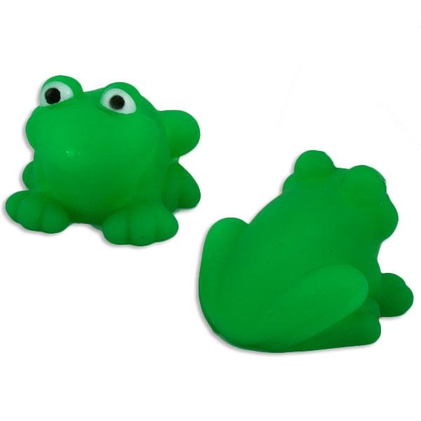 1x Grüner Froschspritzer, Spaß in der Badewanne, ca. 4,5x3,3cm