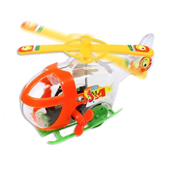 Hubschrauber zum Aufziehen, 1 Stück tolles Aufziehspielzeug als Geschenk