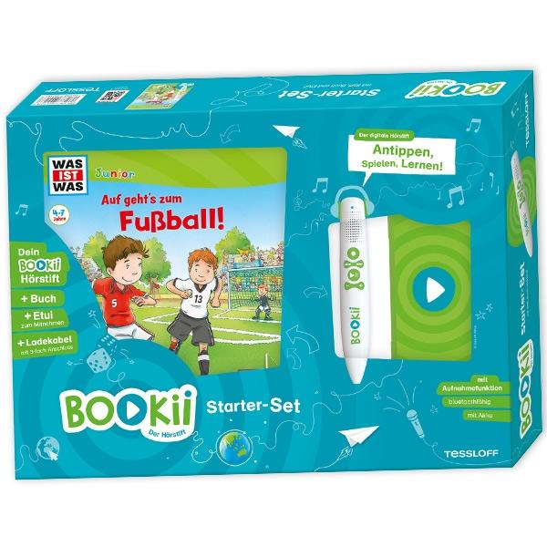 """BOOKii Starter Set, """"Auf geht's zum Fussball"""" von WAS IST WAS Kindergarten"""
