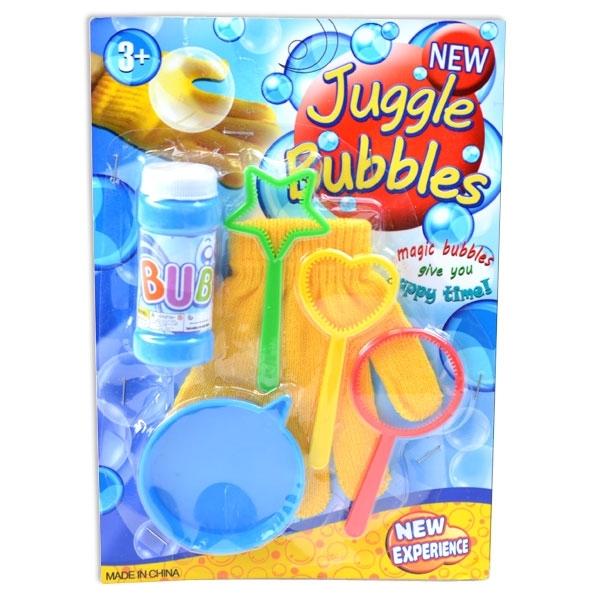 Magisches Seifenblasen-Set, 6-teilig
