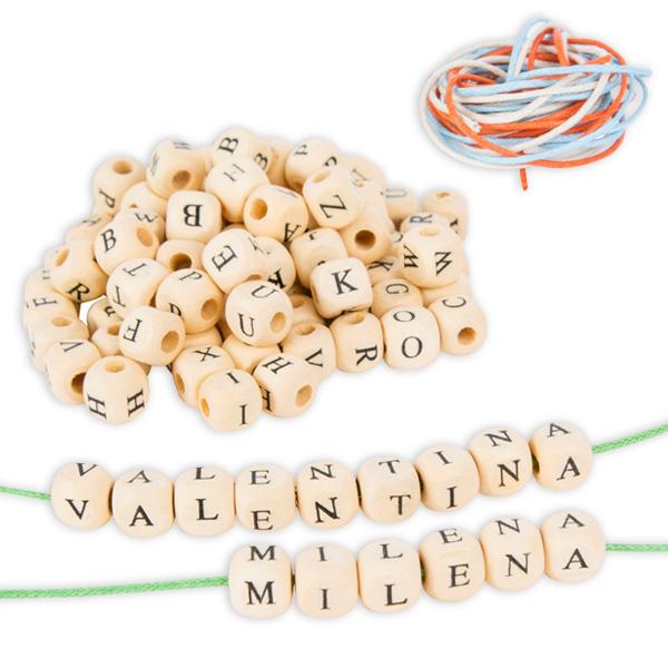 300 Buchstabenwürfel für Namenskettchen