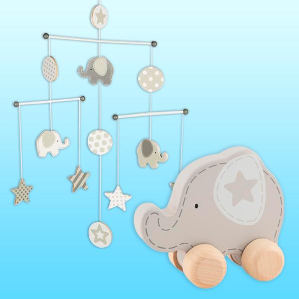 """Baby Spielset """"Kleiner Elefant"""", 2-teilig"""