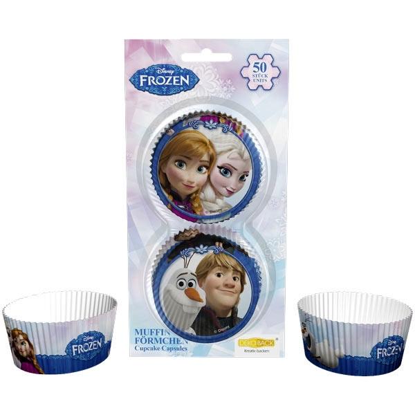 Eiskönigin Muffinsformen 50 Stück