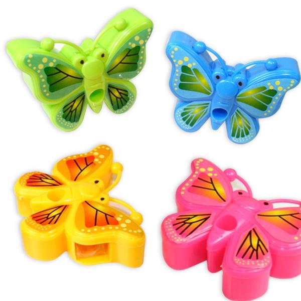 Schmetterling Spitzer, Butterfly-Anspitzer in toller Farbe, 1 Stück