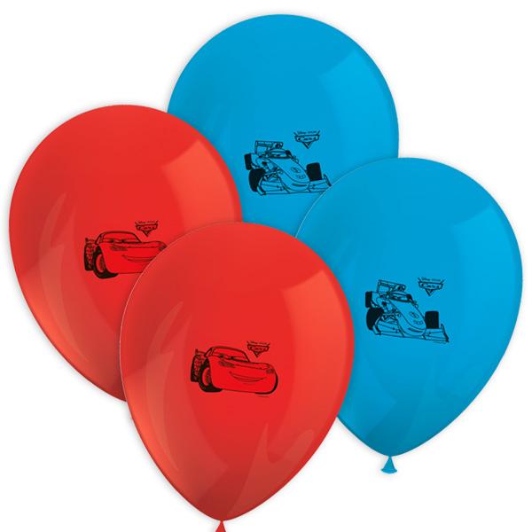 Cars 3 Luftballons im 8er Pack, Ø30cm