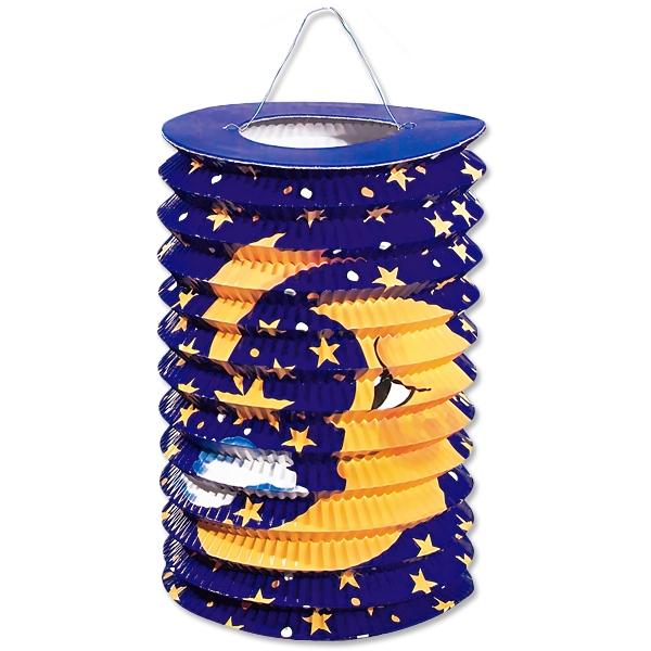 Lampion Mond, mit Kerzenhalterung, 18,5cm