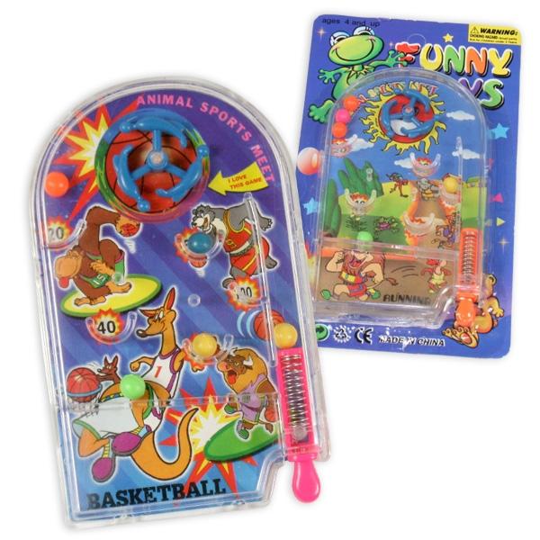 Mini-Flipperspiel, 6cm x 10cm, 1 Stk.