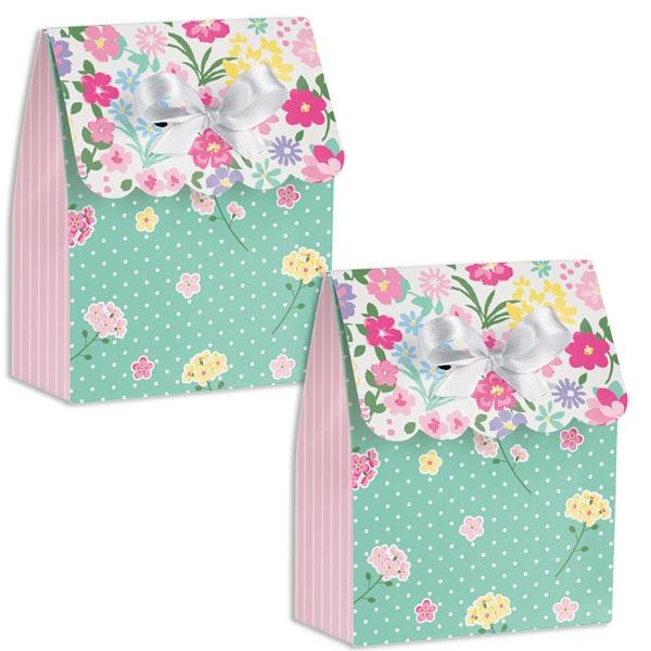 Blumenfee Mitgebselboxen 6 Stk, 11,4cm x 8,8cm