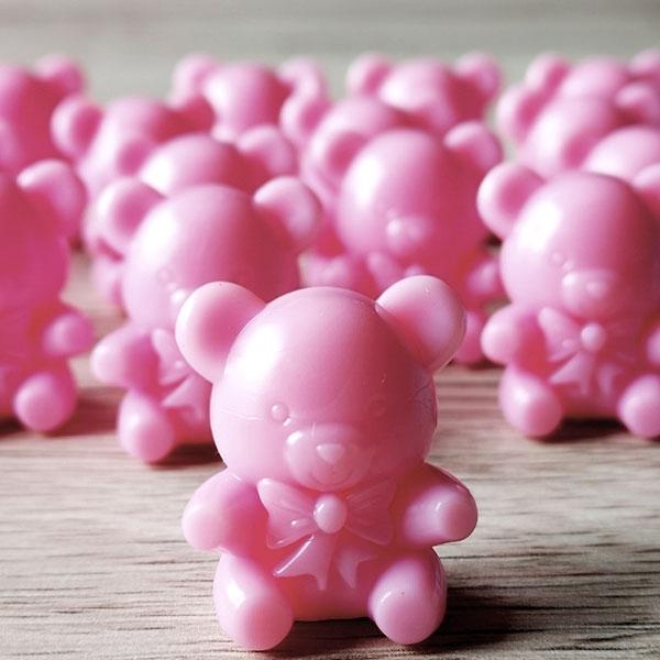 "Streudeko ""Teddy Bär"", Baby Shower Deko Mädchen rosa, 16 Stück"