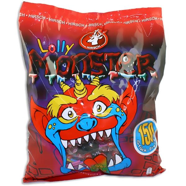 Großpackung Monster Lolly Zungenmaler, 3 versch. Farben, 150 Lutscher