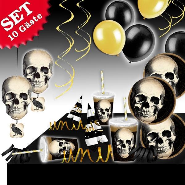 Boneyard Partyset, 10 Gäste, 101-tlg