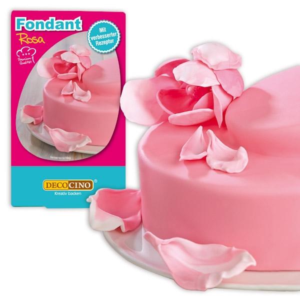 Rollfondant rosa, 250g Zuckermasse zum Verkleiden von Torten/Kuchen