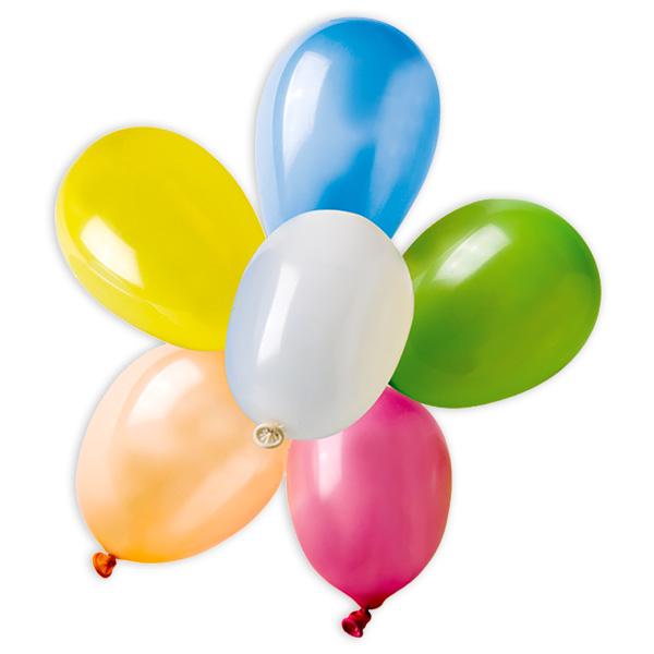 50 bunte Wasserballons zum Werfen