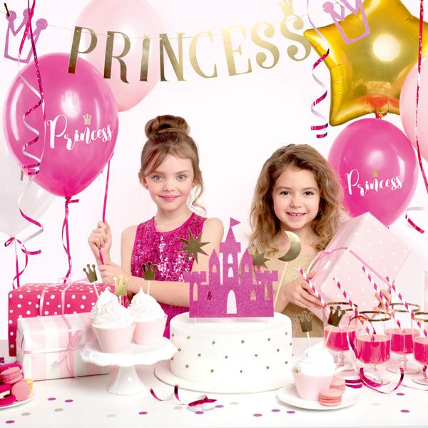 "Partydekoset ""Prinzessin"", 31-teilig"
