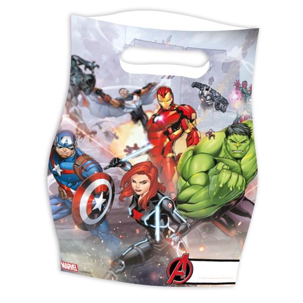 "Mitgebseltütchen ""Avengers"", 6er, 23cm x 17cm"